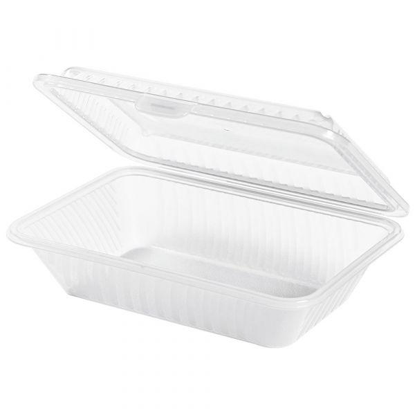 Takeout Box 1 Fach (klein) weiß