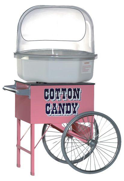 Zuckerwatte Verkaufswagen