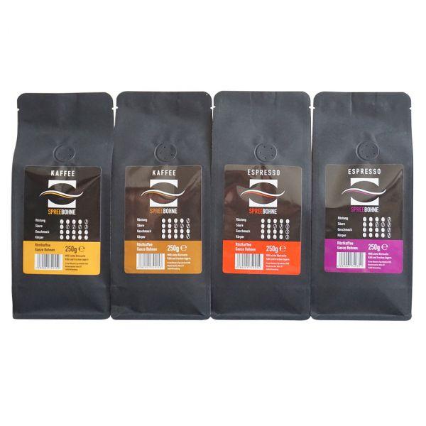Spreebohne Kaffe- und Espresso Starterpaket