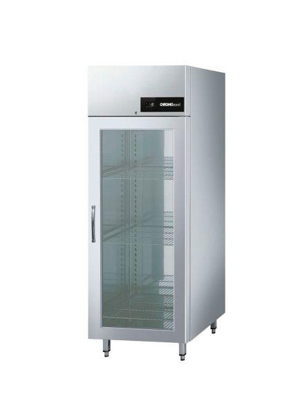 CHROMOnorm NOVA Tiefkühlschrank BR 690 GN 2/1, Glastür