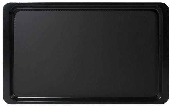 Contacto Tablett GN 1/1 schwarz , Kunststoff
