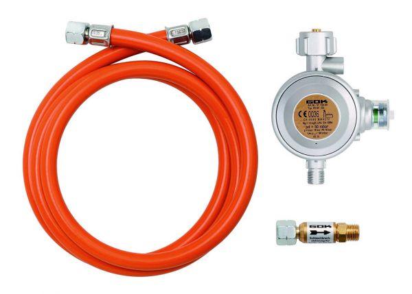 Gasanschluss-Set für Flüssiggas