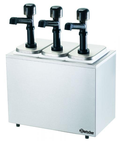 Bartscher 3-fach-Pumpstation