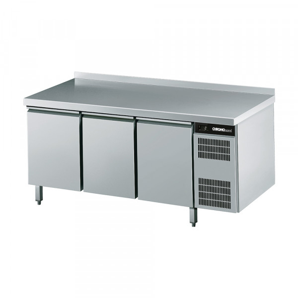CHROMOnorm Tiefkühltisch EN 4060, 3 Türen