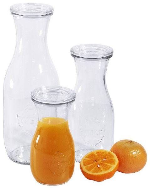 Weck® Glas Saftflaschen - 6 Stück