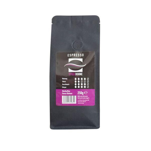 Spreebohne Espresso Violett Front