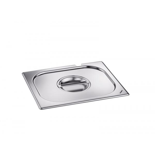 Blanco GN-Deckel GN 1/2 - Löffelaussparung, Griffmulde, Kunststoff