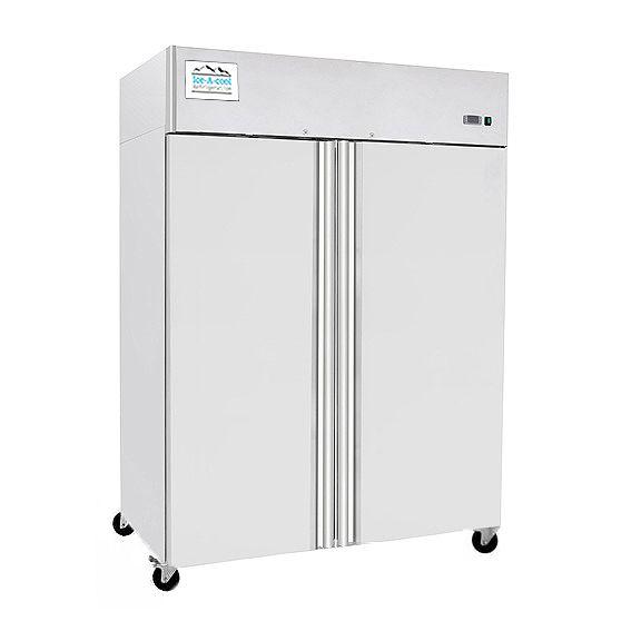 ICE-A-COOL Doppeltür Tiefkühlschrank ICE8114GR