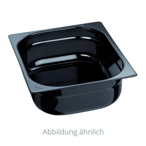 Blanco / B.PRO GN-Behälter 1/2, Buffet Line, schwarz emailliert