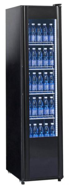 KBS Kühlschrank 326 G Slim - schwarz