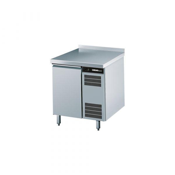 CHROMOnorm Kühltisch 1 Tür mit Aufkantung