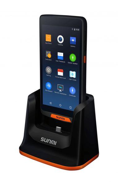 Mobiles Kassenterminal SUNMI M2 inkl. Ladestation