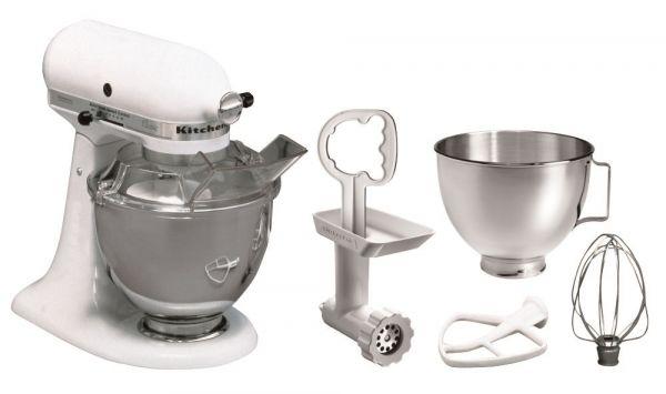 KitchenAid Küchenmaschine 5KSM45EWH Master Paket